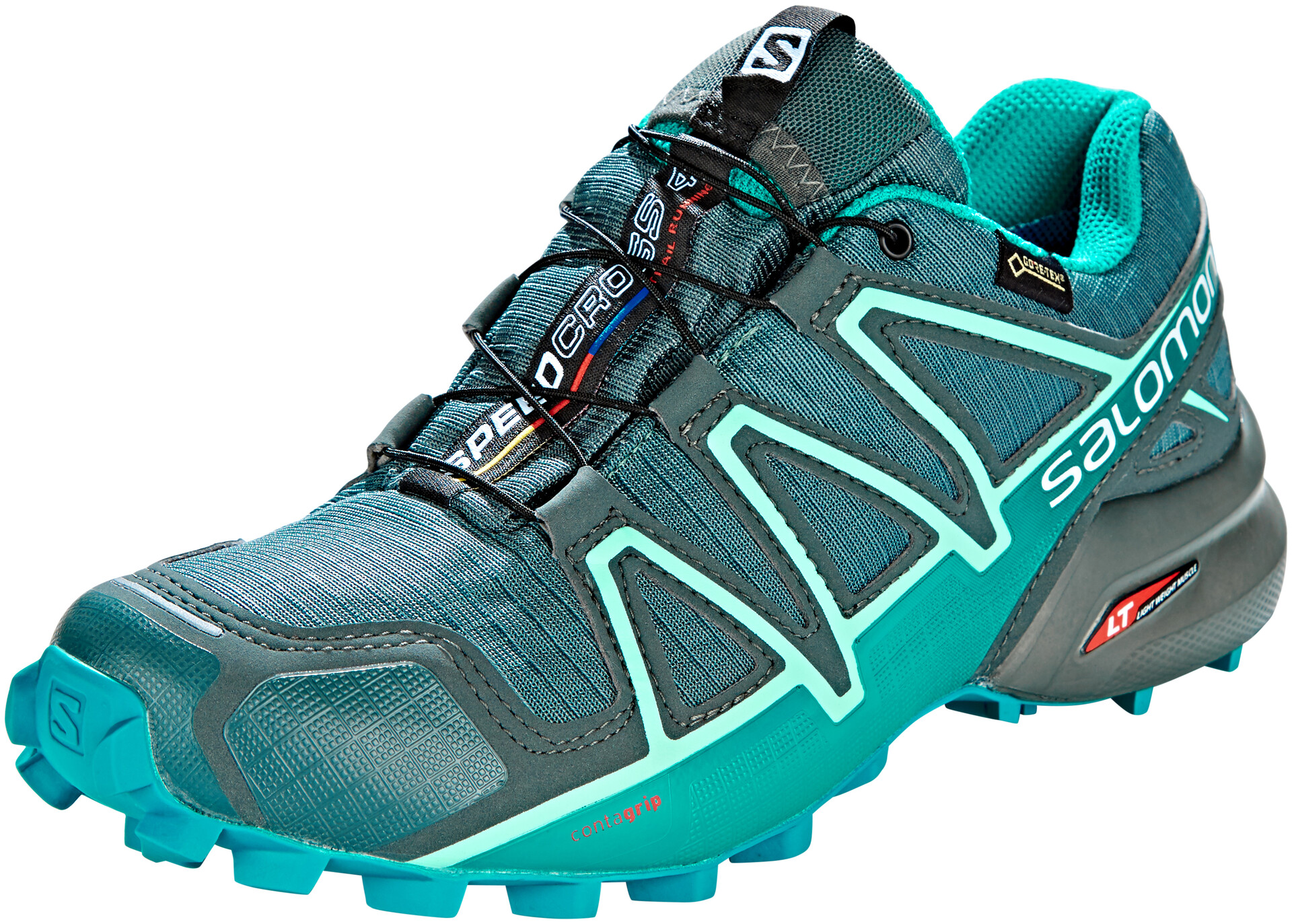 Salomon Speedcross 4 GTX Shoes Dame balsam greentropical greenbeach glass